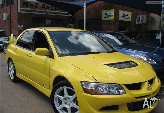 mitsubishi lancer evolution viii gsr 2003 for sale in revesby new south wales classified. Black Bedroom Furniture Sets. Home Design Ideas
