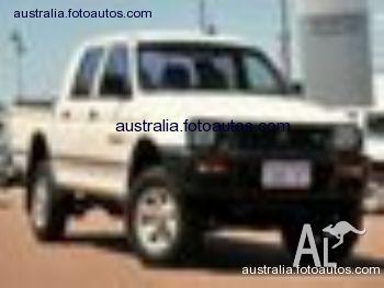 Mitsubishi Triton--GLX--DOUBLE--CAB--MK--Utility 2001,