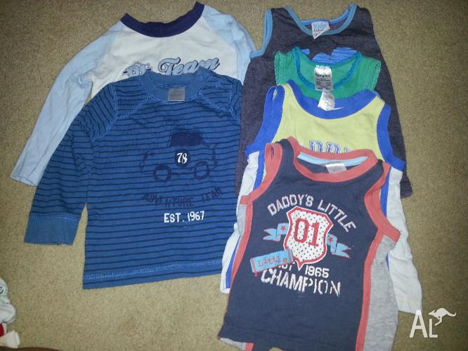 Mix Boys Size 0 Clothes - 25 items