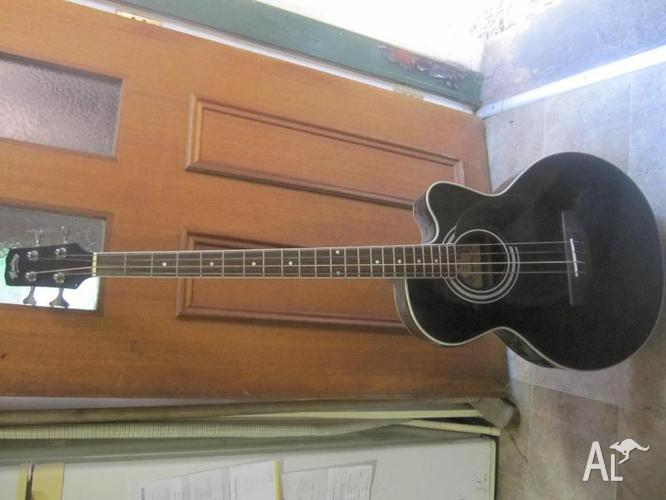 monterey acoustic bass guitar with pickup for sale in stanmore new south wales classified. Black Bedroom Furniture Sets. Home Design Ideas