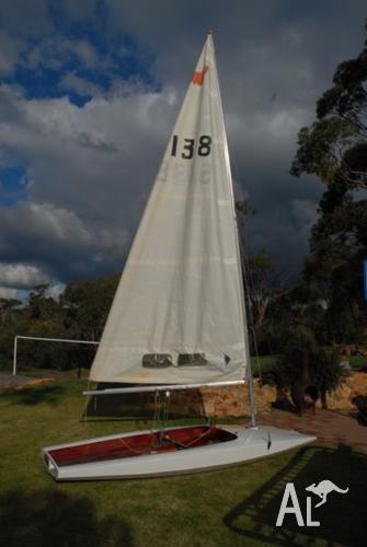 Moth sailing boat