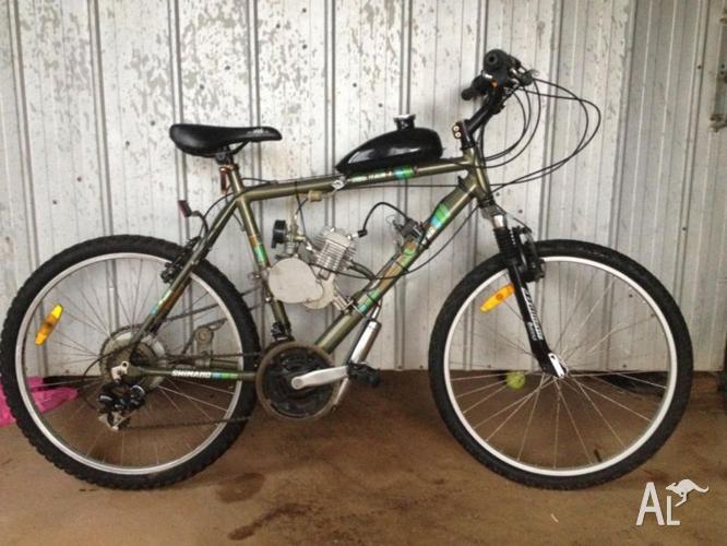 Motorised Bicycle Aluminium Frame