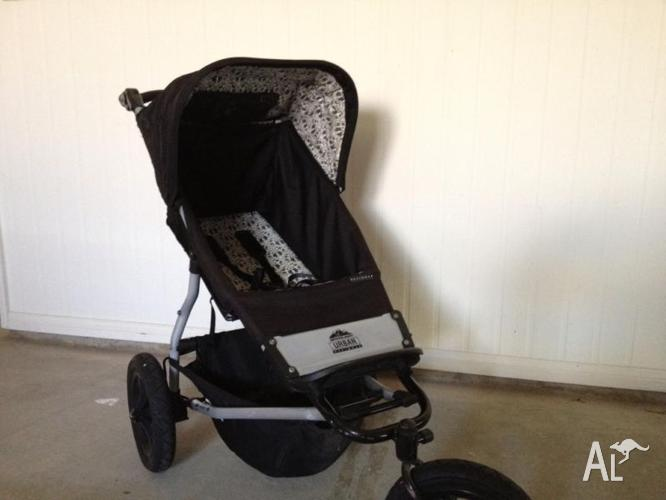 Mountain Buggy Urban Designer Stroller Pram And Carrycot For Sale