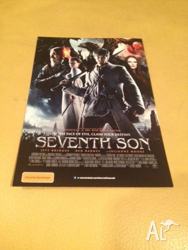Movie Tickets - Double Pass Seventh Son