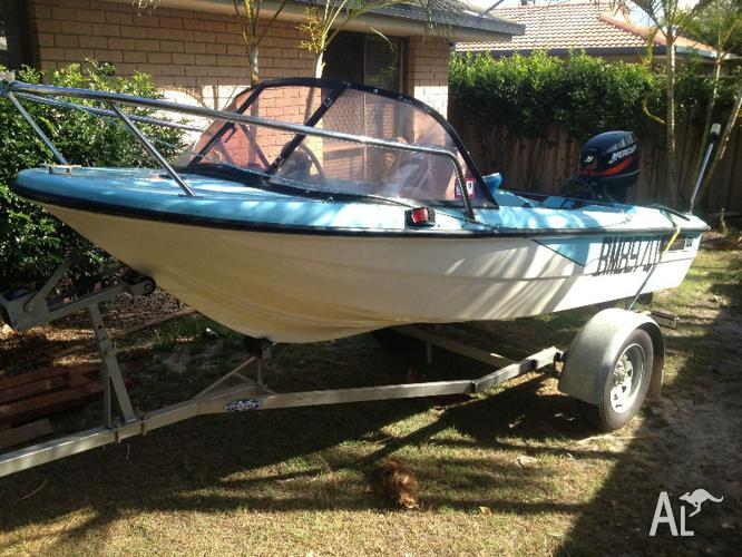 MUST SELL - PRICE REDUCED 14ft Motorboat, 25hp Motor,