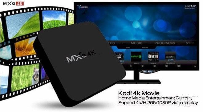 Mxq-4K Android Box New Kodi Krypton 17.6