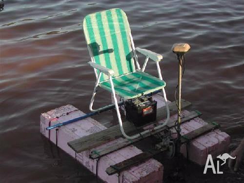 my chair raft with motor