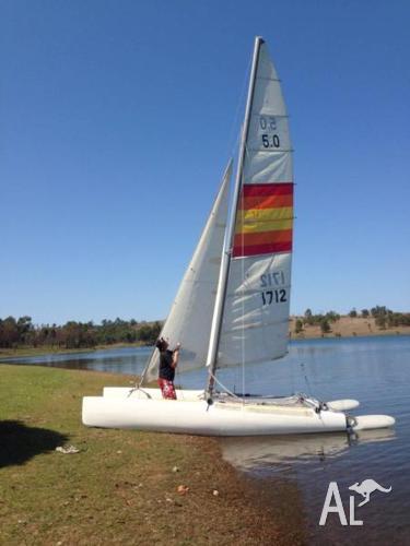 Nacra 5 sailboat for sail