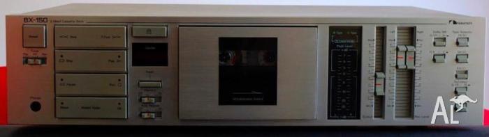 Nakamichi BX-150 Stereo Cassette/Tape Deck 3 Motor Mech