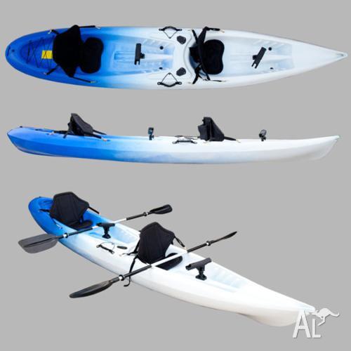 NEAR NEW! 2 Seat Fishing Kayak