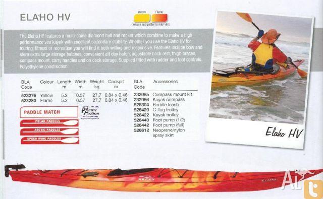 Necky Elaho HV sea kayak for Sale in CROYDON, New South
