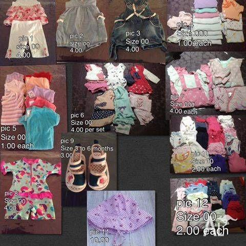 NEED GONE BOYS,GIRLS AND SOME OTHER BABY STUFF