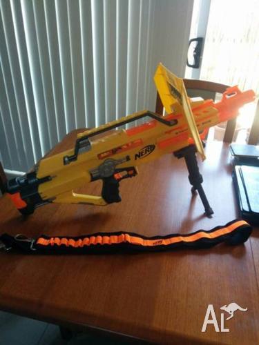 NERF guns: Stampede ECS and Recon CS-6