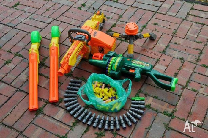 Nerf toy gun set