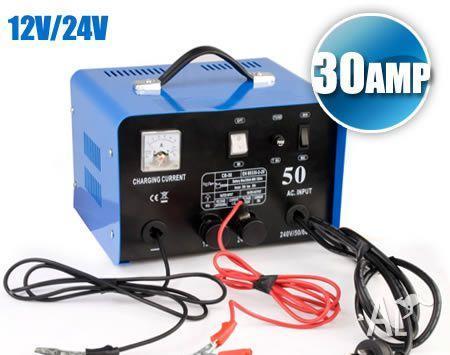 New 12V / 24V 30AMP Battery Charger Car Power Tool