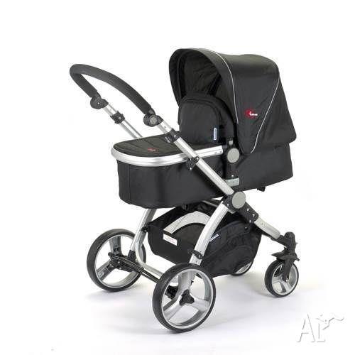 New 2in1 Mamakiddies Baby Pram Baby Stroller Jogger