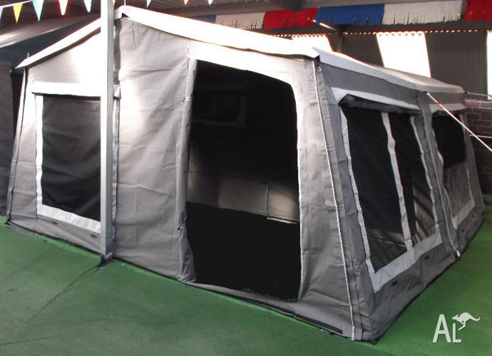 New Campers 2000 Camper Trailer with Full Sun-room