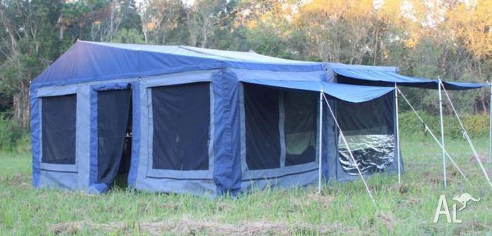 New Dingo Light Off Road Camper Trailer with Huge Tent