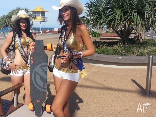 New E-GO Electric Skateboard / Longboard, 12 mths