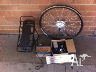 NEW ELECTRIC BIKE MOTOR KIT 200W - NO BATTERY WITH KIT