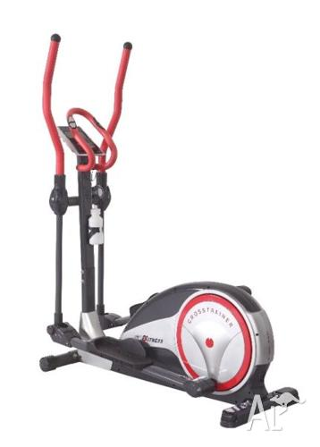 New elliptical fit cross trainer exercise bike home gym