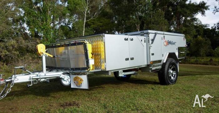 NEW FORWARD FOLDING HARD FLOOR CAMPER TRAILER SAVE