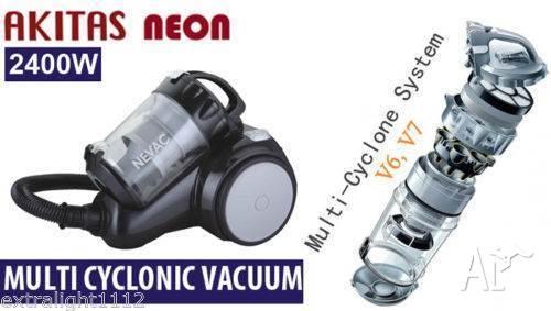 New Japan Akitas Neon Multi Cyclonic 2400W Bagless