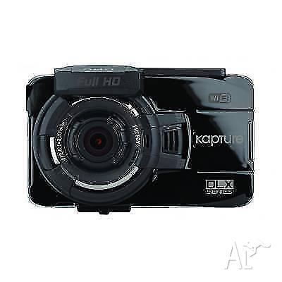 New Kapture KPT-920 In Car Dash Cam with GPS, Wi-Fi &