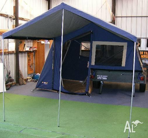 New Oztrail 6 Camper Trailer with awning by Dingo