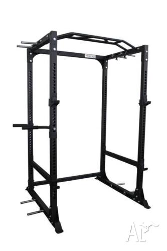 NEW Power Cage PC5 with Dip Handles, Multi Grip Bar,
