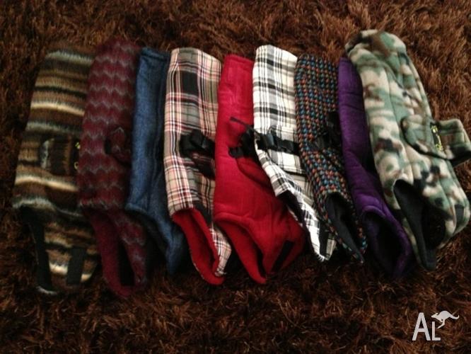 NEW small Dog coats/ jumpers/ bandanas/carry bag