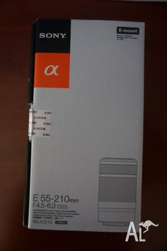 *NEW* Sony E-mount 55-210mm Lens