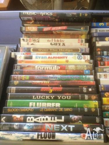 NEW & USED - APPROX 120 DVDs FOR SALE