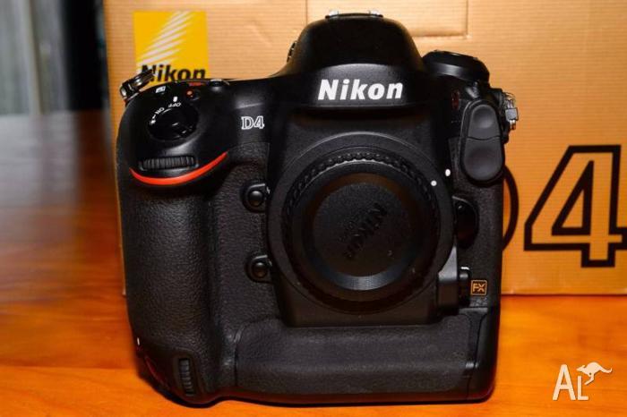Nikon D4 Body 16MP 3.2-inch LCD SLR Camera