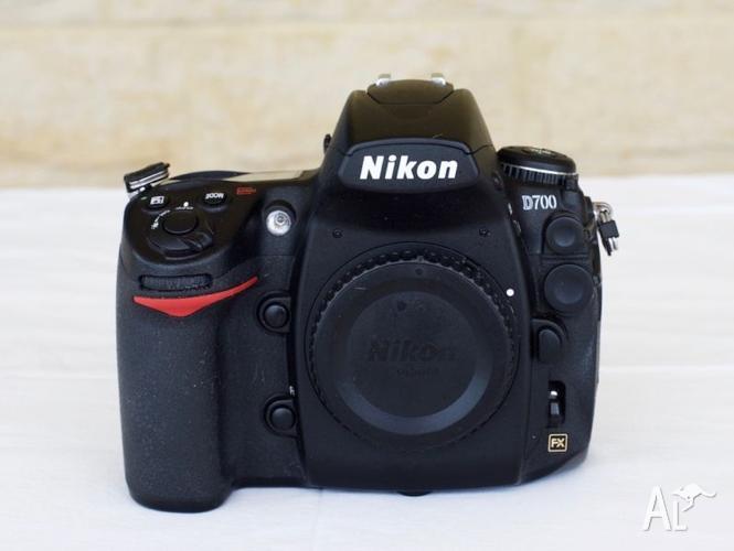 Nikon D700 12.1 MP Digital SLR Camera - Black (Body