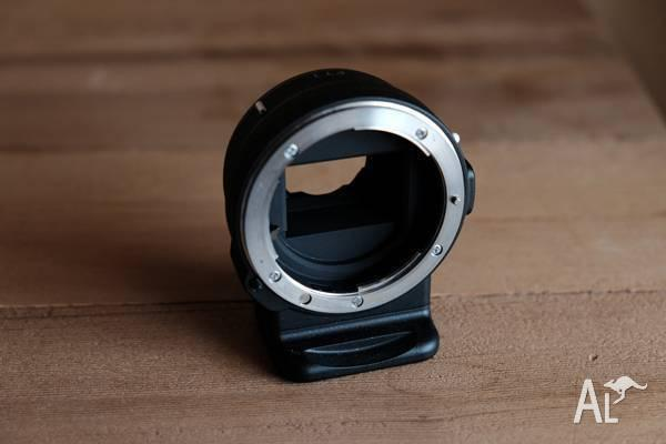 Nikon FT1 Lens Mount Adapter