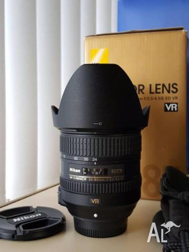 Nikon Nikkor 24-85mm VR Lens - as new