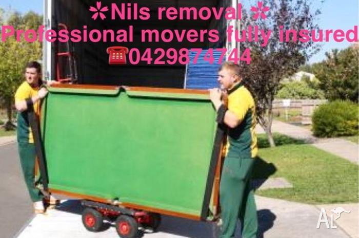 NILS REMOVALIST-$59/HR A MAN + 4.5TON TRUCK, CHEAPEST,