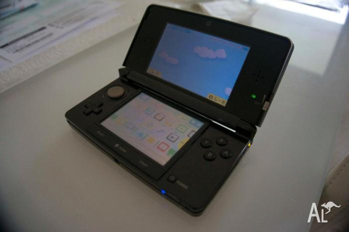 Nintendo 3DS Cosmos Black Excellent condition