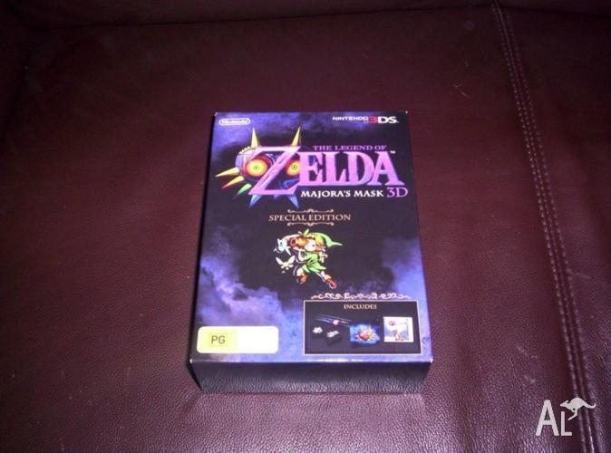 Nintendo 3DS Game Legend of Zelda Majoras Mask Special