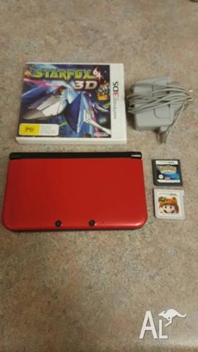 Nintendo 3DS XL - Plus Games Pokemon, Mario, Starfox