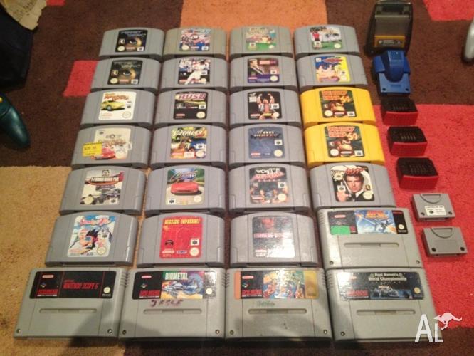 Nintendo 64 Console Games & Accessories Pokemon Mario Ninja