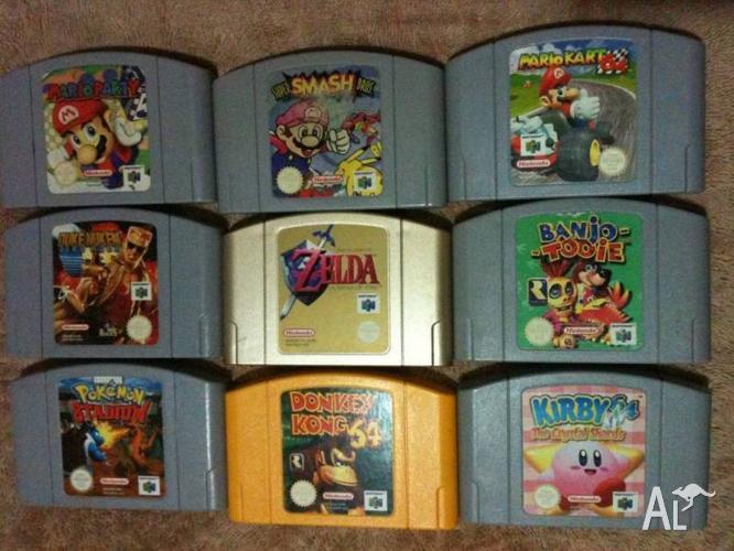 Nintendo 64 Games N64 RARE