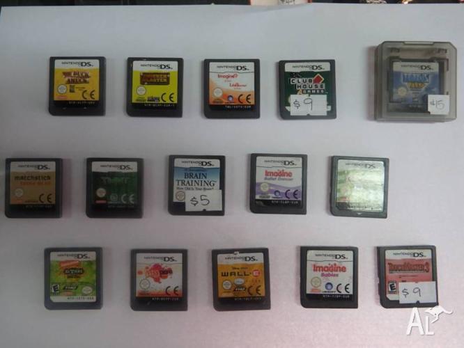 Nintendo DS Games - Various