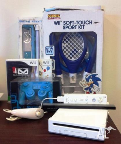 Nintendo WII + 2 games + Accessories