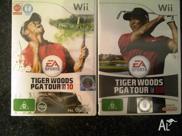 Nintendo Wii games - 3 to choose -Tiger Woods & Gordon