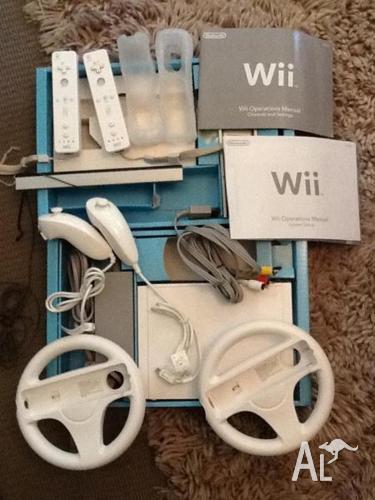 Nintendo Wii Pacakage inc. 6 games   ...take a l@@k :o)