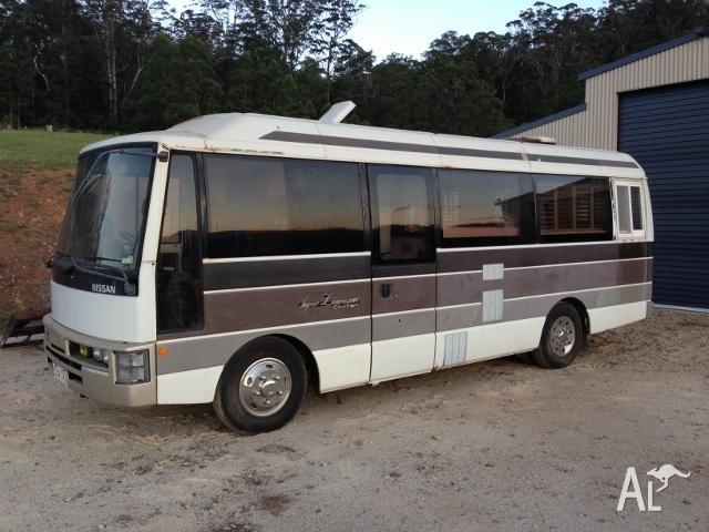 Nissan Civilian Motorhome Bus Camper Van For Sale In Cedar