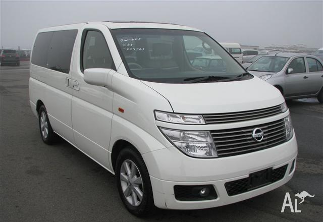 Nissan Elgrand 7 Seater Xl 2003 For Sale In Concord New