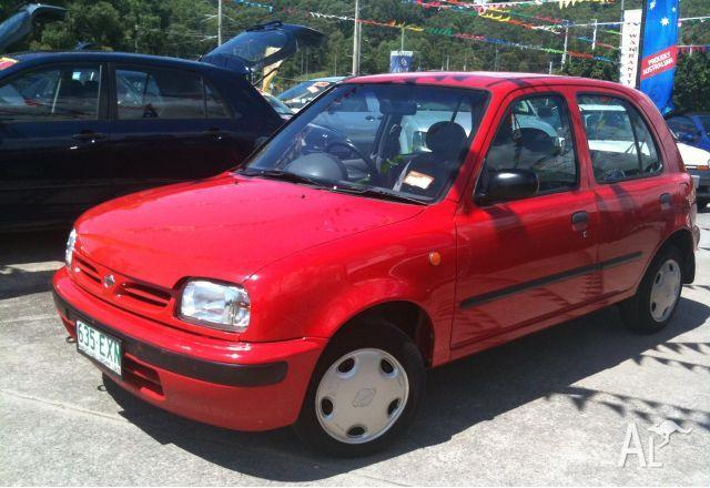 Nissan Micra Slx K11 S2 1997 For Sale In Burleigh Heads